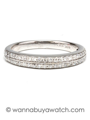 14K White Gold 0.46ct Diamonds