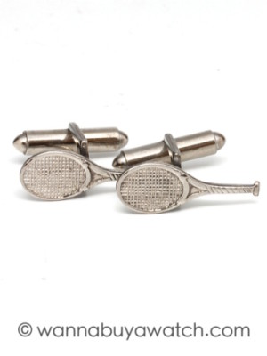 Sterling Silver Tennis Rackets
