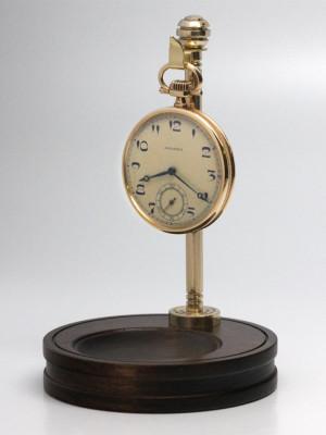 37247-Pocketwatch-Stand-Walnut-Brass