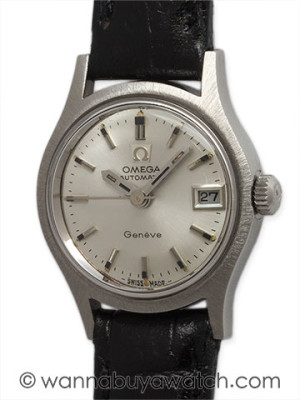 Lady SS Omega Automatic circa 1960's