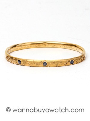 1900's 14K Yellow Gold Bangle Bracelet