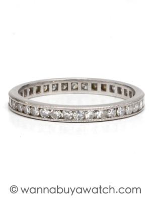 Diamond Eternity Band Size 6.5