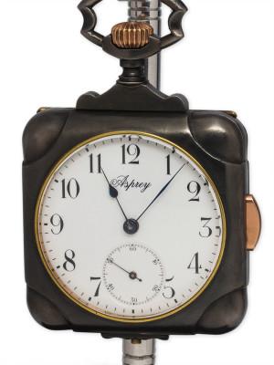 Asprey 1/4 Hour Repeater Travel Watch circa 1910