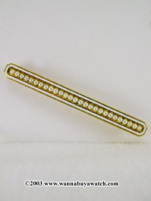 Antique Enamel Pin