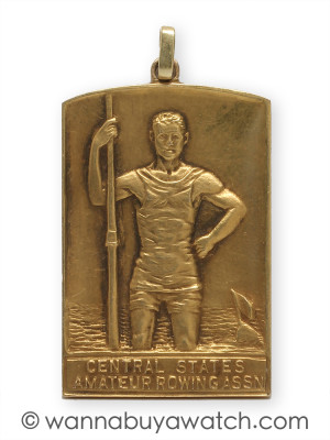 Rowing Association Awards Plaque Pendant