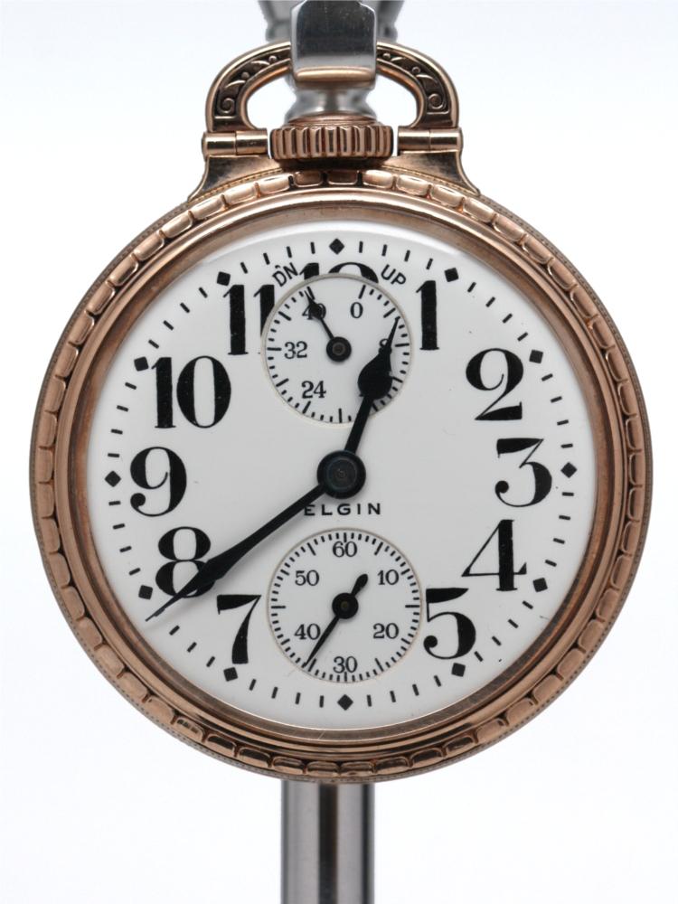 elgin railroad pocket watch serial numbers