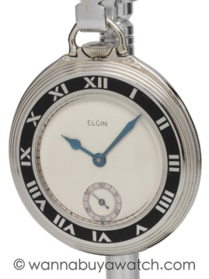 Elgin Art Deco Era Gentleman's Pocketwatch
