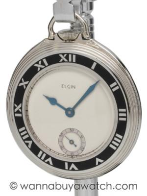 Elgin Art Deco Era Gentleman's Pocketwatch