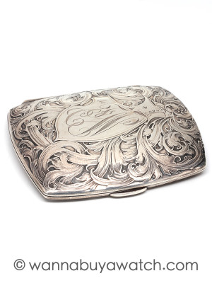 Sterling Silver Card/Cigarette Case