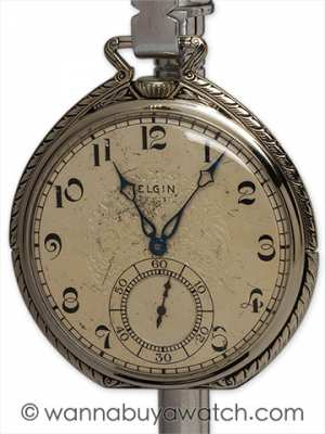 Elgin WGF Nightstand Pocketwatch circa 1930