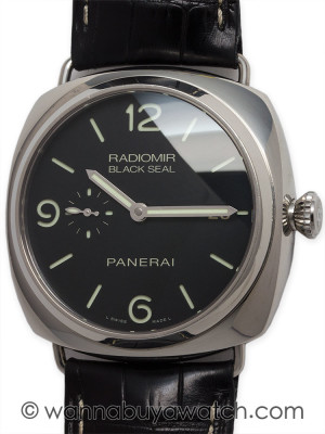 Panerai Black Seal Automatic PAM 388 B & P
