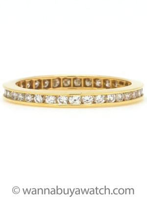 18K Yellow Gold Tiffany & Co Eternity Band