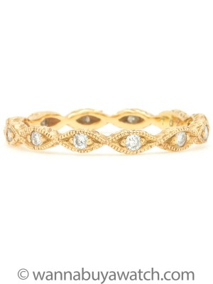 18K Yellow Gold & Diamonds