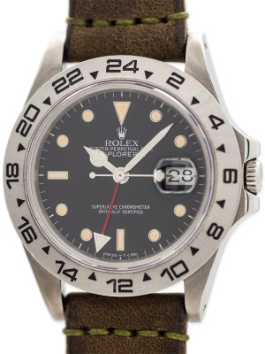 Rolex Explorer II ref 16550 Transitional circa 1986