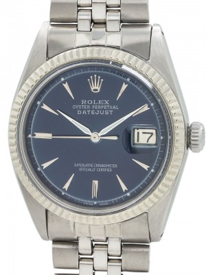 Rolex Datejust ref 1601 Stainless Steel circa early 1960's
