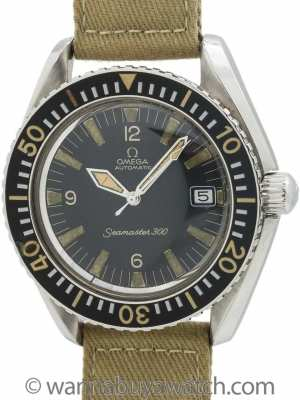 Omega Seamaster 300 ref 166.024 Stainless Steel circa 1968