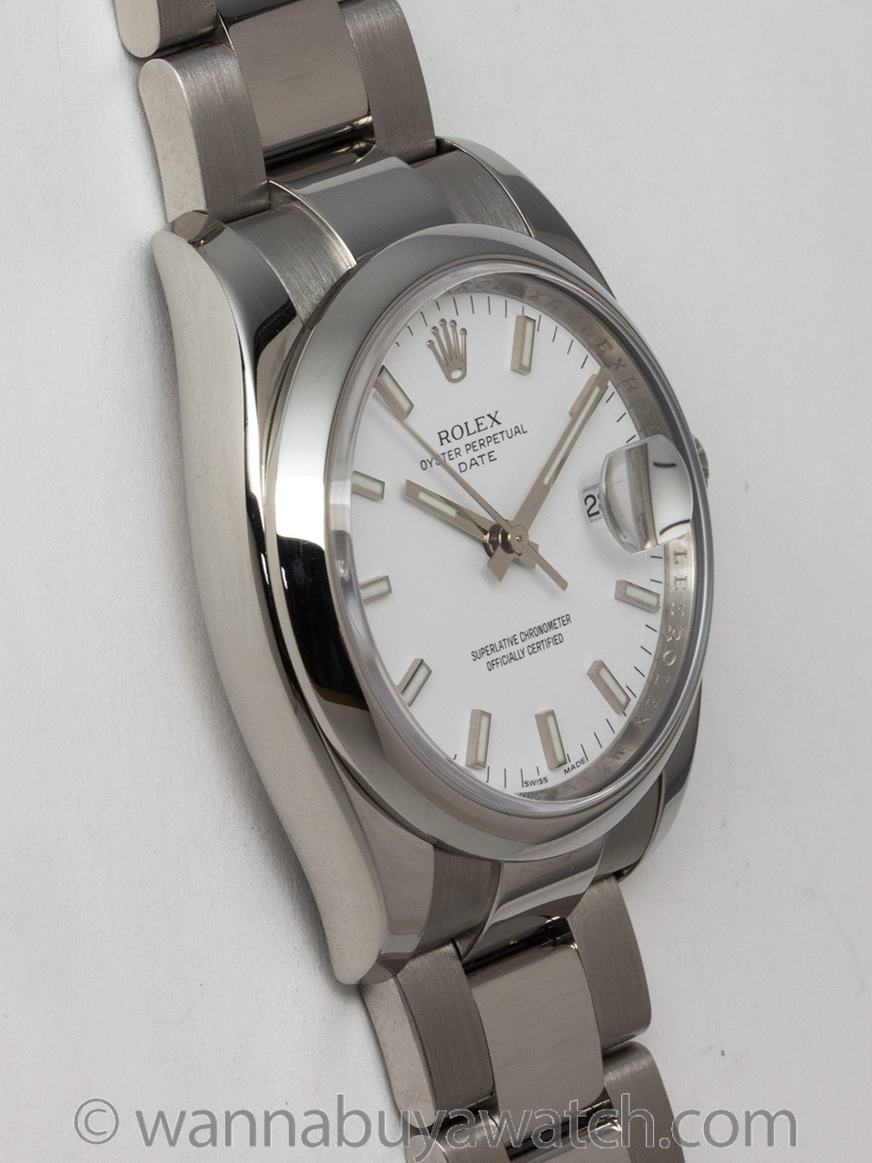 Wanna Buy A Watch Rolex Ss Oyster Perpetual Date Ref