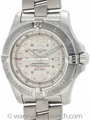 Breitling Super Ocean Aeromarine Steelfish A17390 Box & Papers