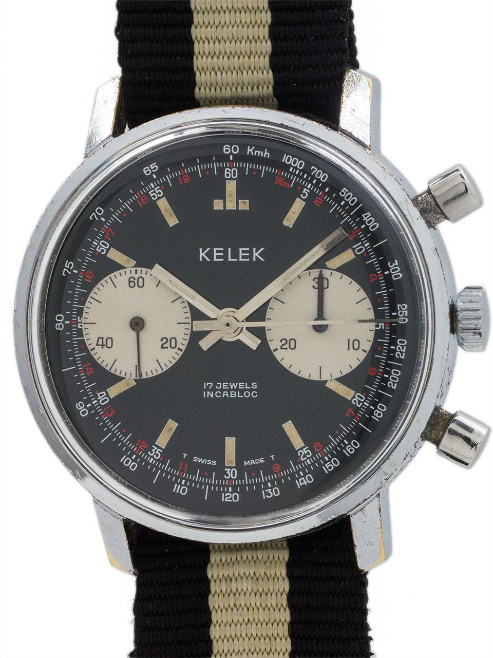 wanna buy a kelek vintage chronograph circa 1960
