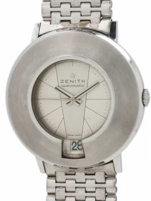 "Zenith SS ""Moderne Mid Century"" Automatic 1960's MINT!"