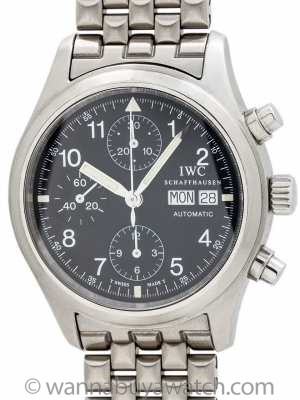 IWC Flieger Chronograph Stainless circa 2000