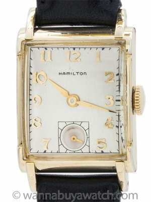 Hamilton Man's Gold Filled Dress Watch circa 1940's