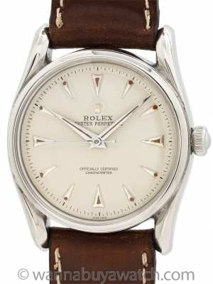 Rolex Bombe ref 5018 Stainless Steel circa 1948