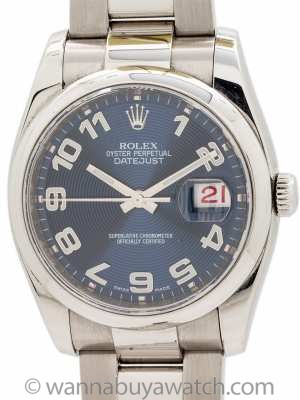 Rolex Datejust ref 116200 Stainless Steel circa 2007