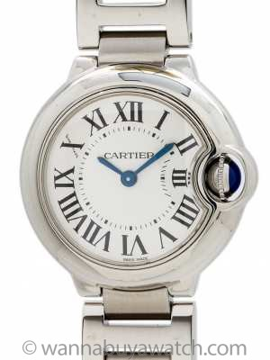 Cartier Ballon Bleu Stainless Steel Lady's circa 2000s