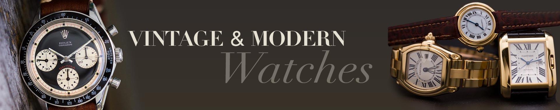 vintage modern watches 1