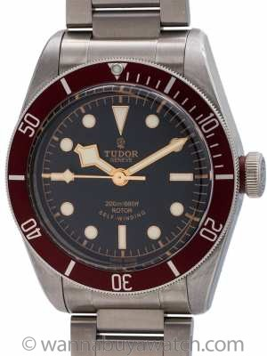 Tudor Heritage Black Bay ref 79220R Box & Card circa 2016