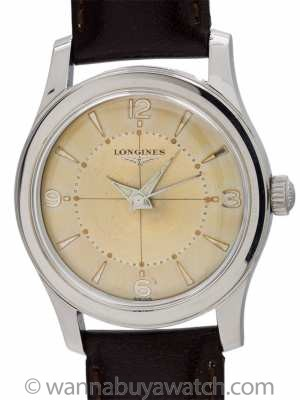 Longines Automatic Stainless Steel circa 1960
