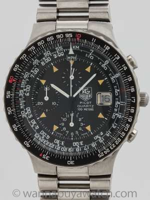 Tag Heuer Pilot ref 230.206 First Generation 1987