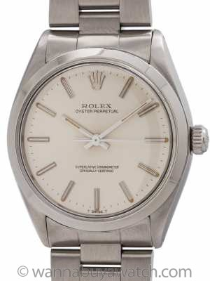 Rolex Oyster Perpetual ref 1002 Chronometer circa 1971