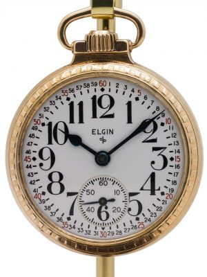 Elgin BW Raymond Railroad Pocketwatch circa 1925