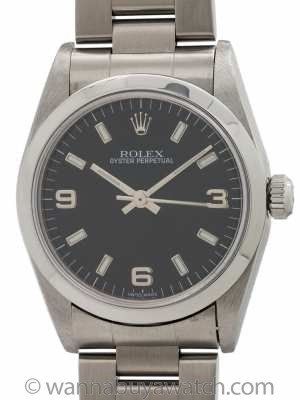 Rolex Oyster Perpetual Midsize ref 77080 circa 1998 Hang Tag