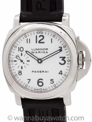 Panerai Luminor Marina PAM113 circa 2008 Box & Booklet