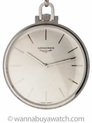 Longines Dress Pocketwatch circa 1960's