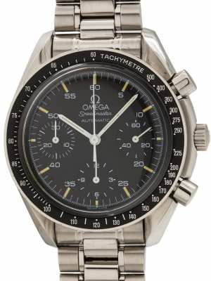 "Omega Speedmaster Automatic ""Reduced"" ref 3510.50 circa 1997 Tags and Certificate"