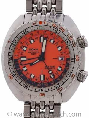 DOXA Sub 750T GMT Box and Papers 2007
