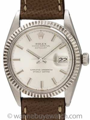 "Rolex Datejust ref 1601 ""Fat Boy"" SS/18K WG circa 1974"