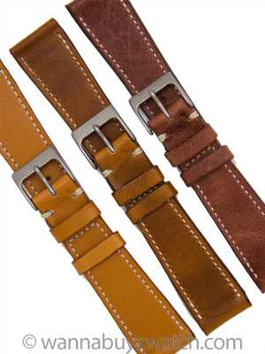 Italian Leather Luxury Strap 20mm
