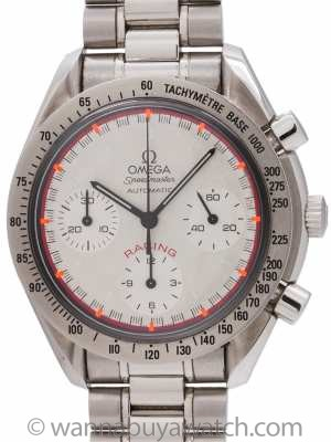 Omega Speedmaster Racing Michael Schumacher with B&P circa 2000
