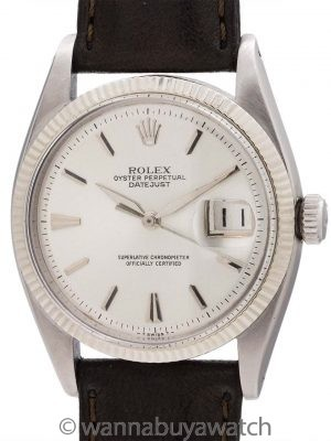 Rolex Early Datejust ref 6605 circa 1958