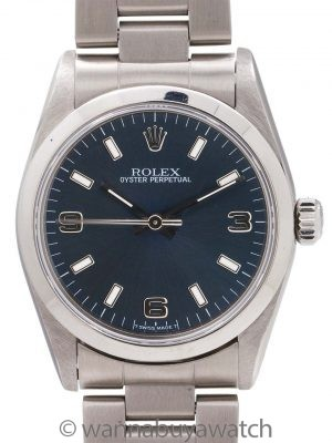 Rolex Oyster Perpetual Midsize ref 77080 circa 2001 Papers