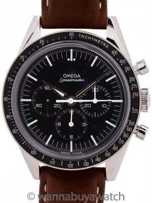 "Omega Speedmaster ""First Omega In Space"" Reissue circa 2012 B&P"