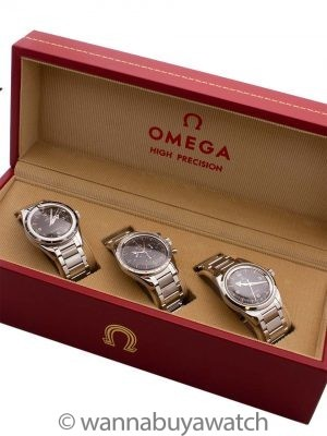 Omega 1957 Trilogy Set BRAND NEW UNWORN 2017