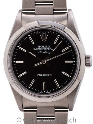 Rolex Oyster Perpetual Airking ref 14000 circa 1998