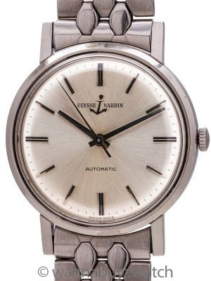 Ulysse Nardin Automatic ref 10528/1 circa 1960's Exceptional!
