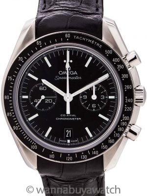 Omega Speedmaster Moonwatch Co-Axial Chronometer circa 2013 B & P